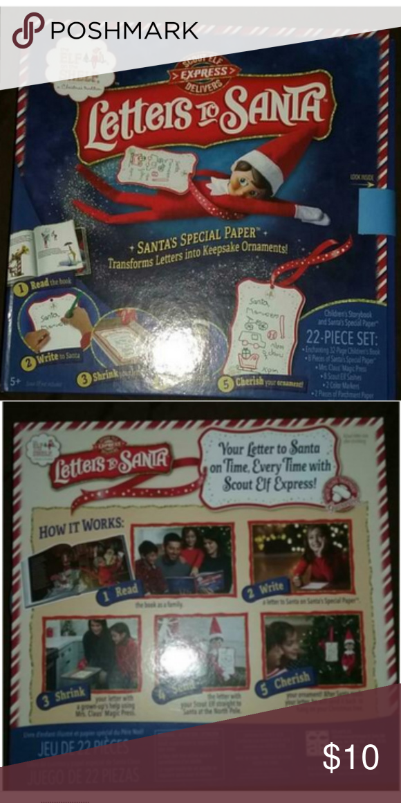 New Elf On The Shelf Letters To Santa (With images