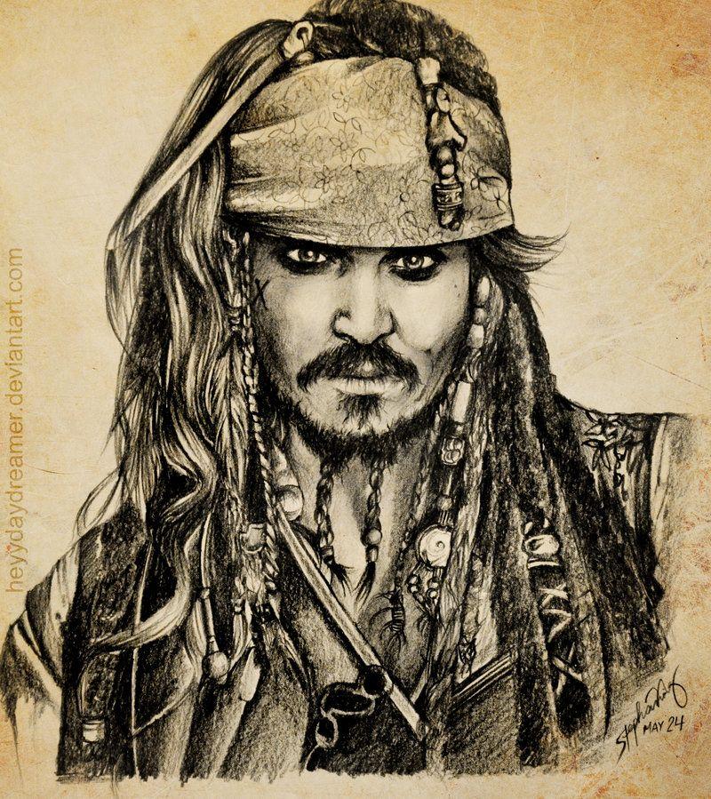 Captain Jack Sparrow Drawing