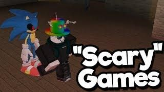 Roblox horror games