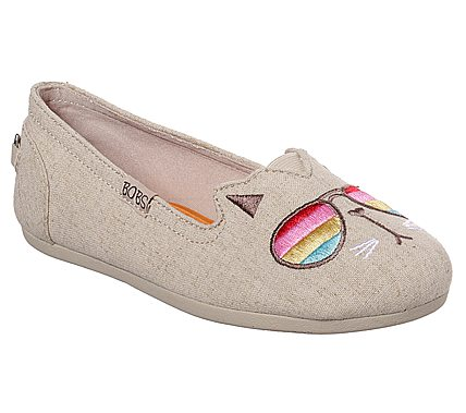 BOBS shoes from Skechers, a charitable shoe collection