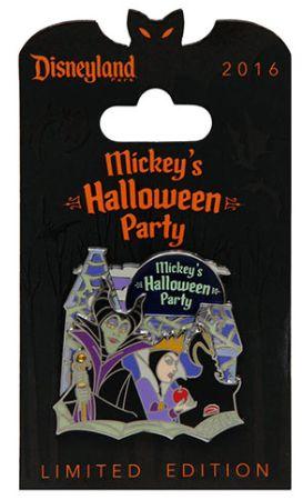 Disneyland Halloween pin 2016
