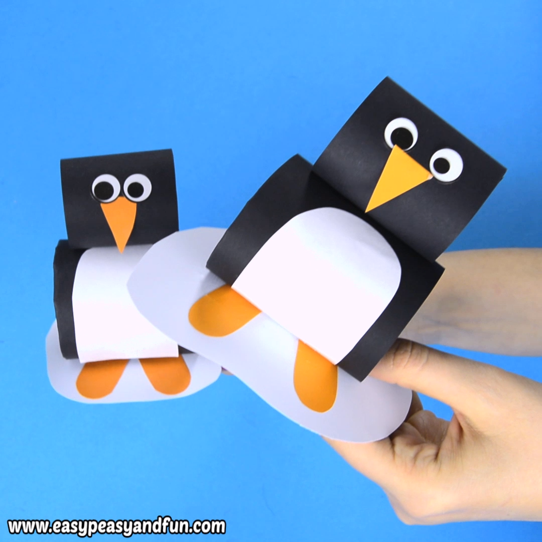 Paper Penguin Craft for Kids #craftsforkids
