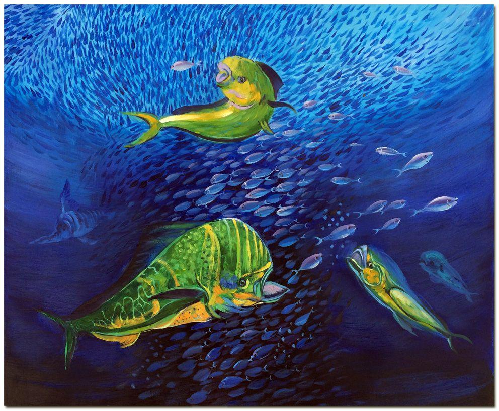 Underwater Fish Paintings