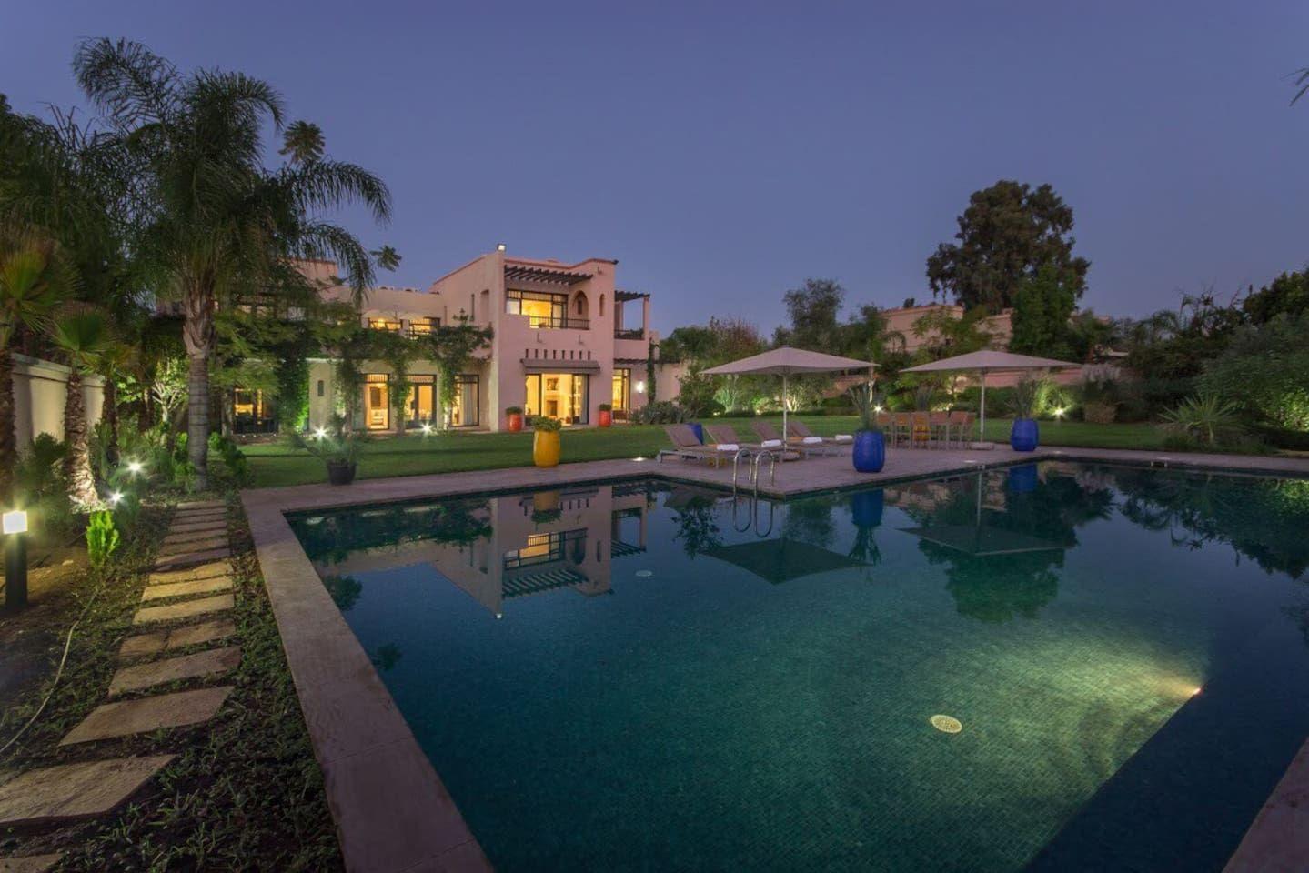 Villa relaxe at four season hotel marrakech villas - Location maison avec piscine marrakech ...