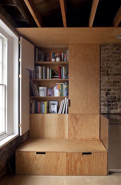 Jonathan Tuckey - Frame house, London 2013. Via, photos (C) Ioana Marinescu.