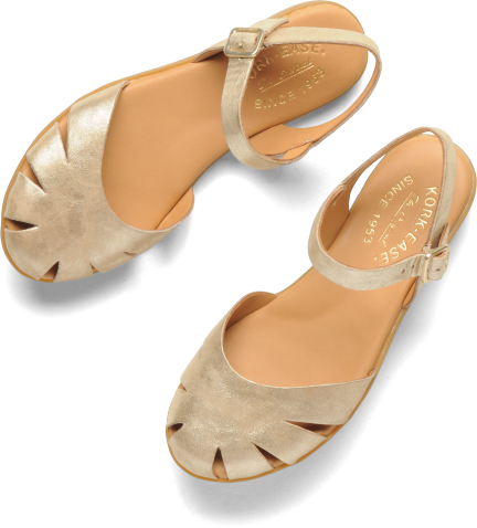 b0f3a011358195 Insomniac Sale Picks  Cute Closed-Toe Sandals - Already Pretty. The  Official Kork-Ease Website. closed-toe ankle strap detailed with geometric  cutouts