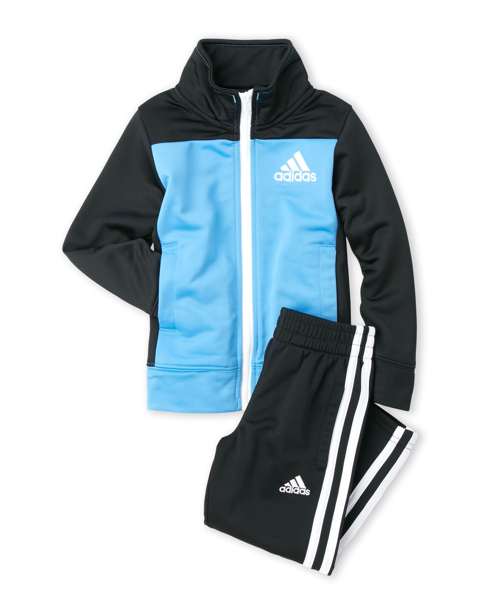 Adidas (Toddler Boys) Two Piece Color Block Tracksuit