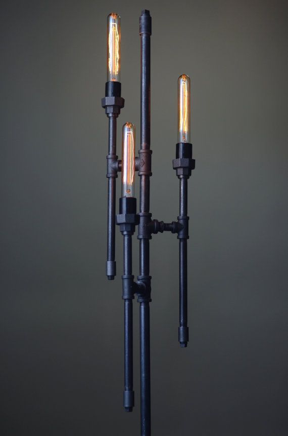 This floor lamp makes a statement by mixing the industrial style this floor lamp makes a statement by mixing the industrial style with gothic elements three mozeypictures Images