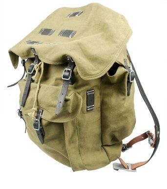 df3308c94 Generic Ww2 German Army Heer Elite Mountain Troops Canvas Rucksack/Military  Surplus Backpack - Accurate repro WWII GERMAN ARMY HEER ELITE MOUNTAIN  TROOPS ...
