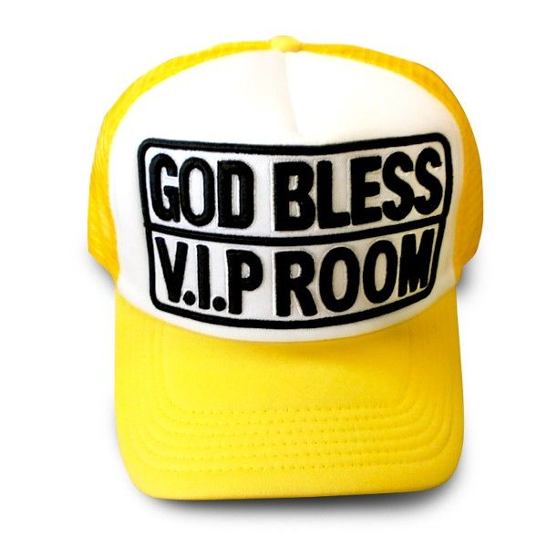 CASQUETTE FILET GOD BLESS VIP ROOM