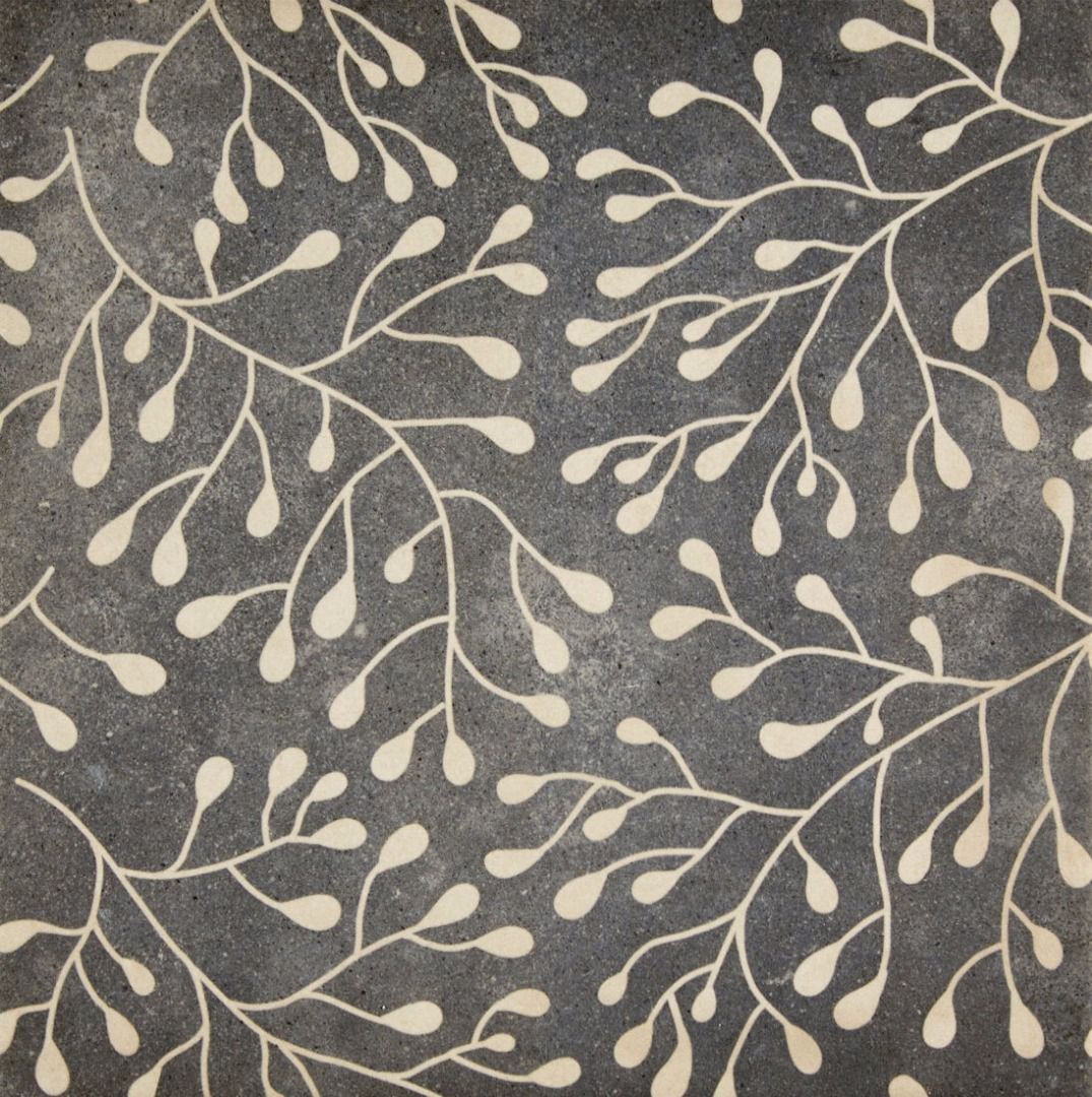 Flora Decor Tile Darwin Flora Blue Decor  Finishes Tiles  Pinterest  Flora