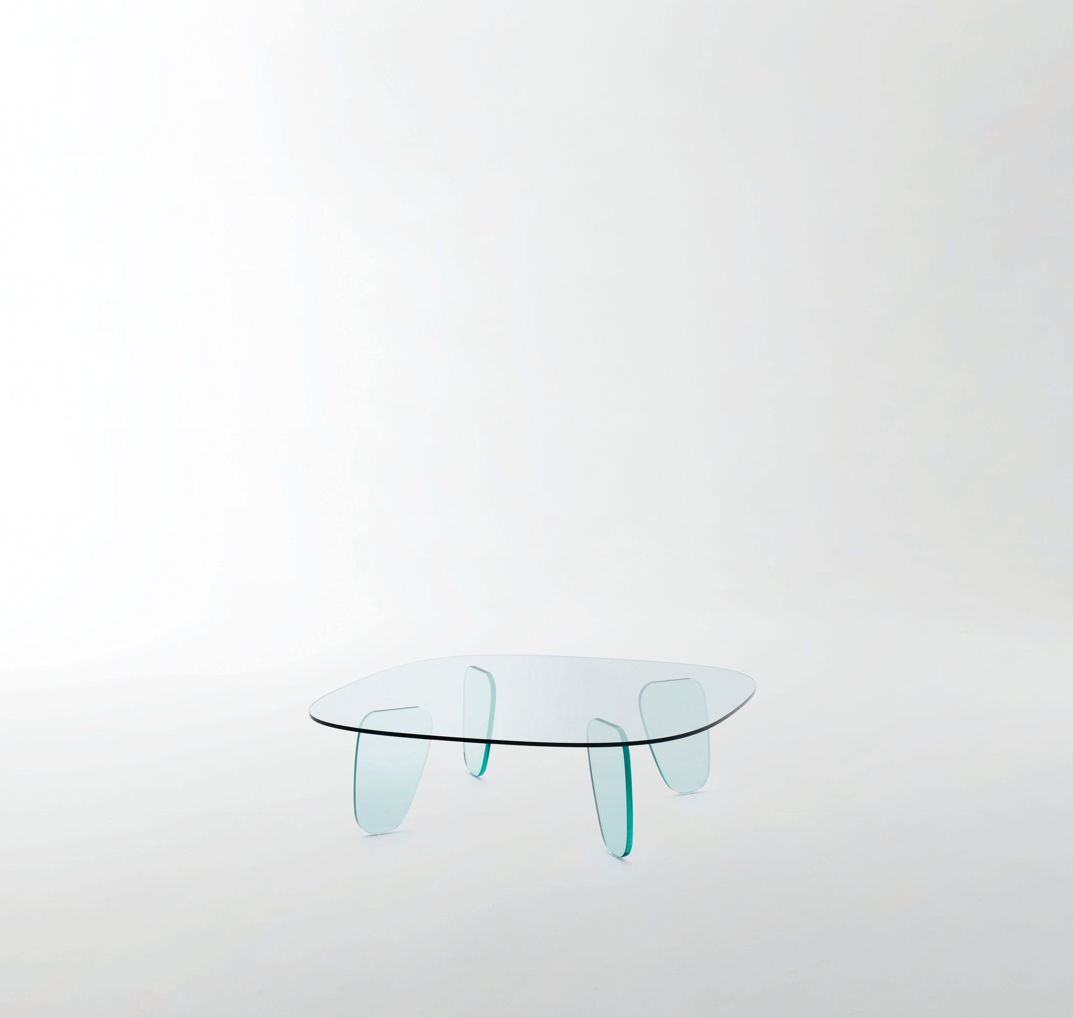 DRAWN TABLE design Naoto Fukasawa Low and shaped table