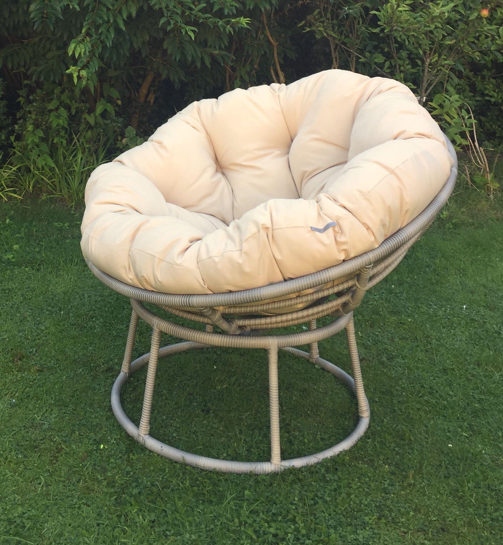 Outdoor Aluminium Frame Papasan Waterproof Cushion 245 00