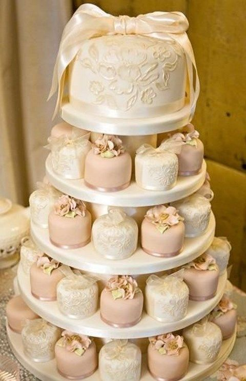 The Latest Wedding Trend 50 Individual Cakes Hywedd