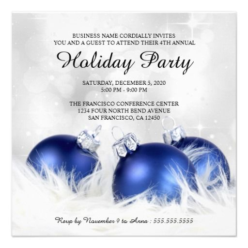 corporate christmas and holiday party invitations christmas