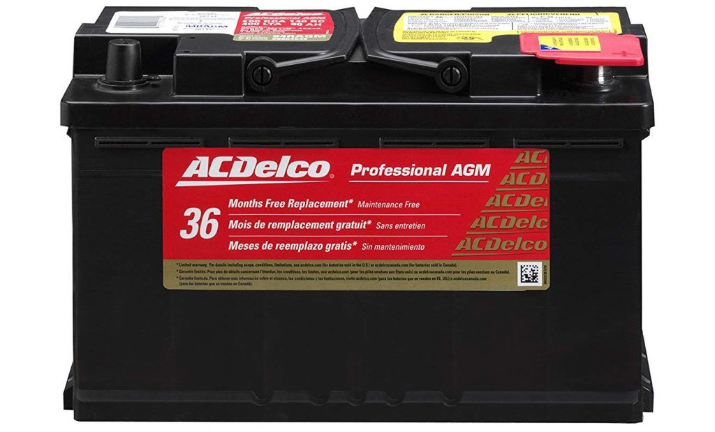 Acdelco 94ragm Car Battery Rv Battery Car Batteries