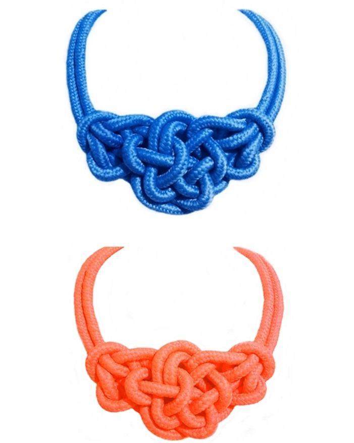 Collar de nudos marineros collares hermosos pinterest - Nudos marineros para pulseras ...