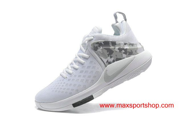 30431ba74c261 Nike Zoom Witness White Light Grey Camo Summer Men s Basketball Shoes  67.00