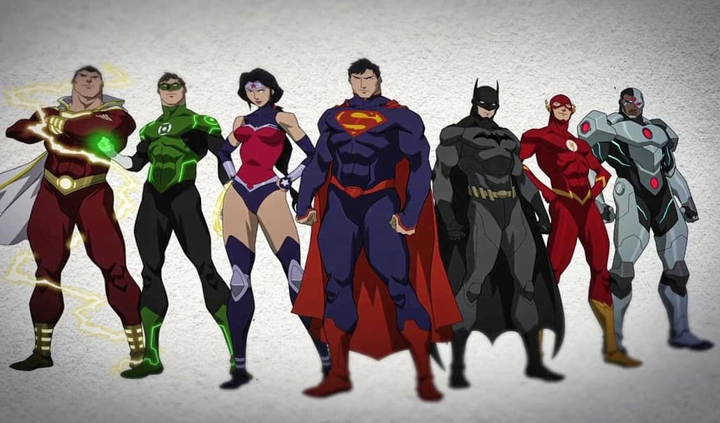 We Are The Dc On Instagram You Can Call Us The Super Seven Matchesmalone Wearethedc With Images Justice League War Cyborg Justice League Justice League