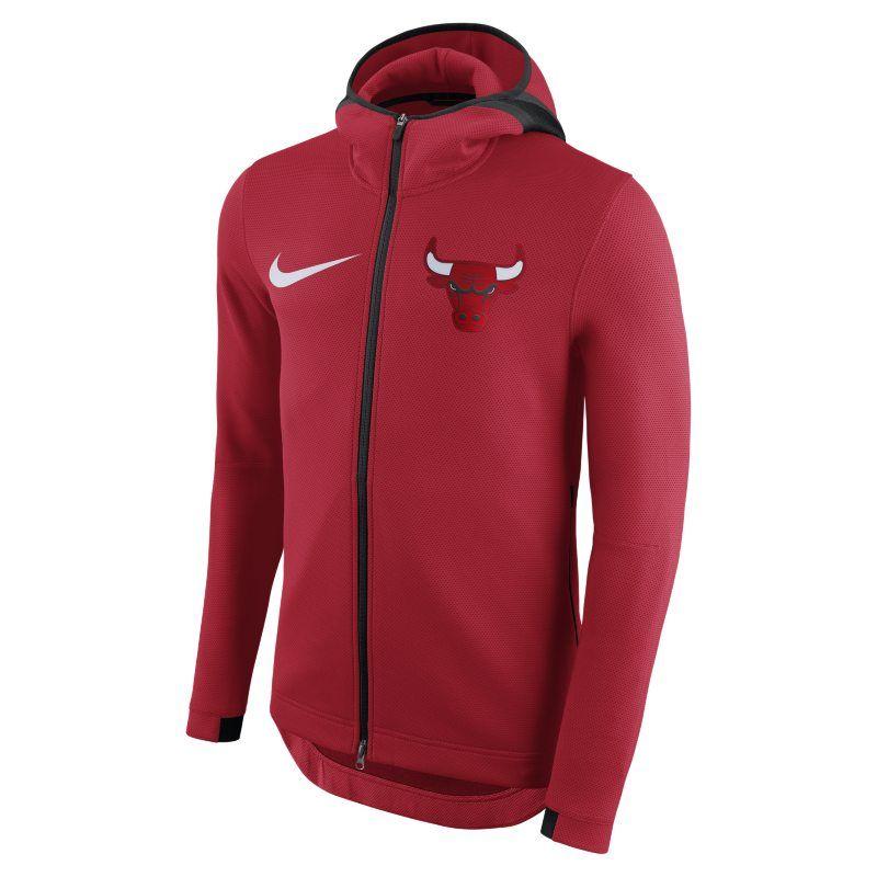 Chicago Bulls Nike Therma Flex Showtime Men S Nba Hoodie Trail Blazers Zip Hoodie Nike Men