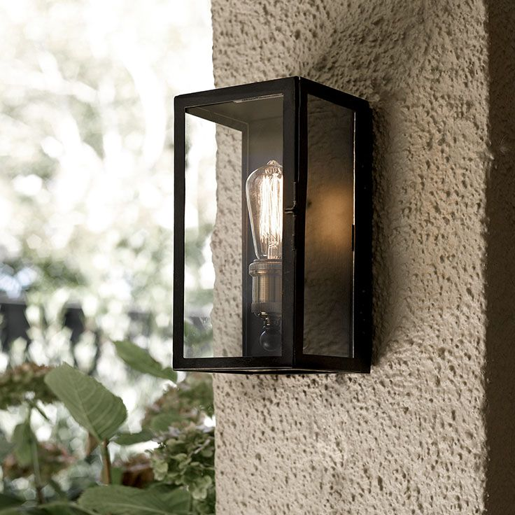 the beacon lighting southampton 1 light small exterior wall bracket