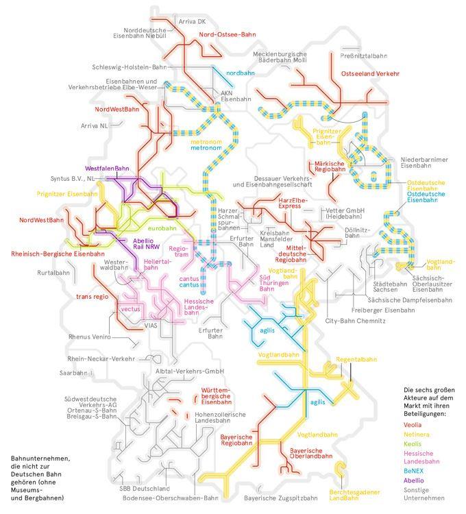 Deutschlandkarte Kleine Eisenbahnen Deutschlandkarte Eisenbahn