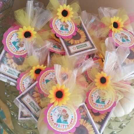 Frozen Fever Party Favors Addison 39 S 6th Birthday Pinterest Party Fa