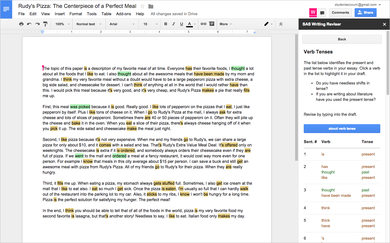 How to get started with the Writing Reviser Addon for