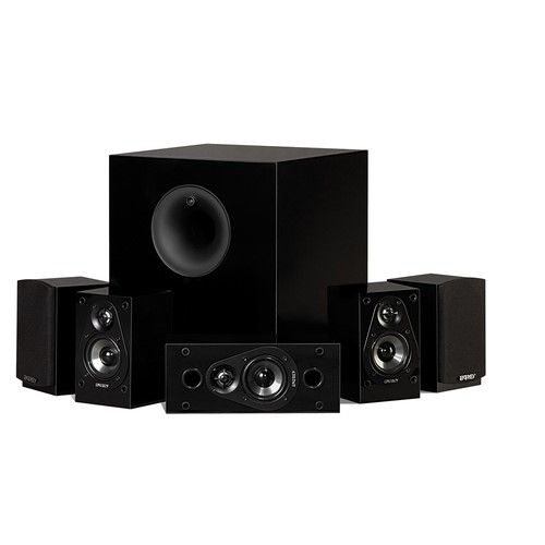 Energy take classic home theater system set of six black also rh pinterest