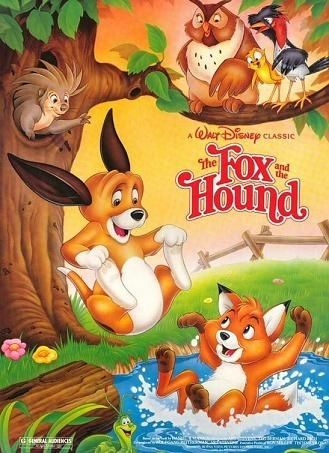 The Fox And The Hound Rox Et Rouky Films Dessins Animes Dessin Anime