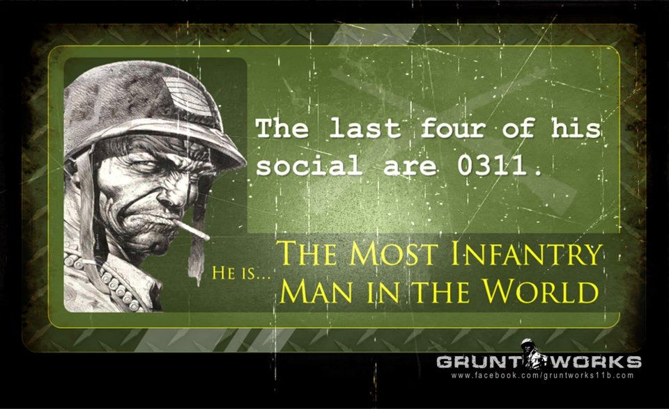 The Most Infantry Man in the World Leadership quote