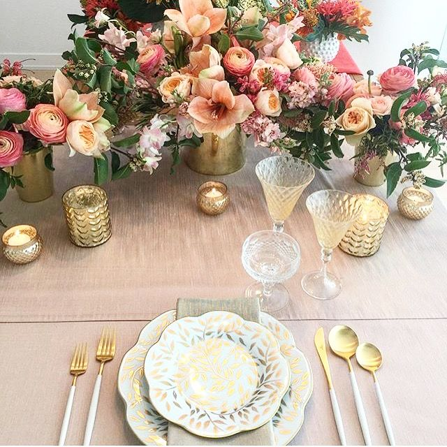 the ARK collection - Gorgeous Event decor and tabletop rentals
