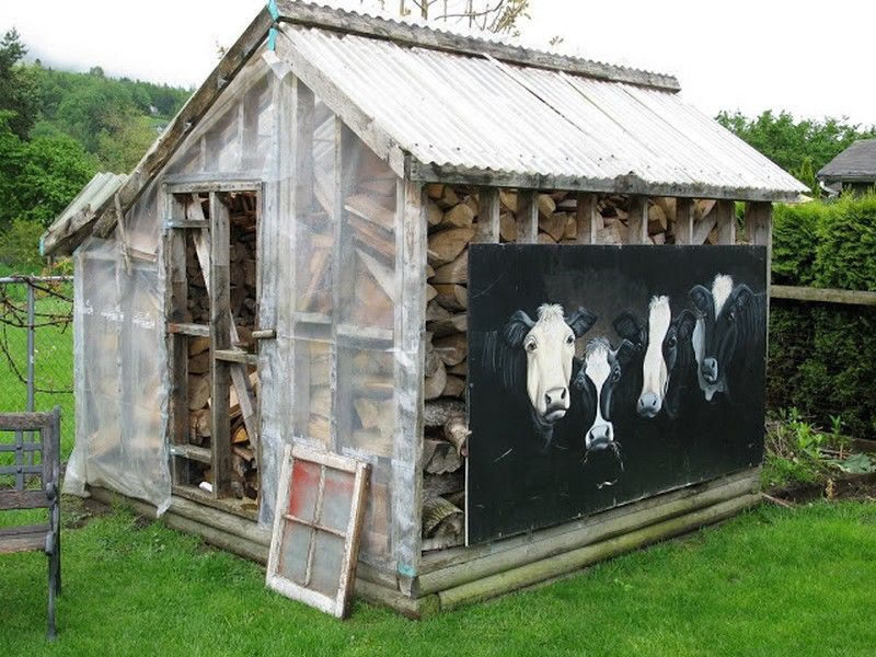 Rustic Garden Shed - Funky Junk Interiors