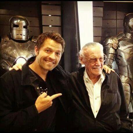 Misha and Stan Lee