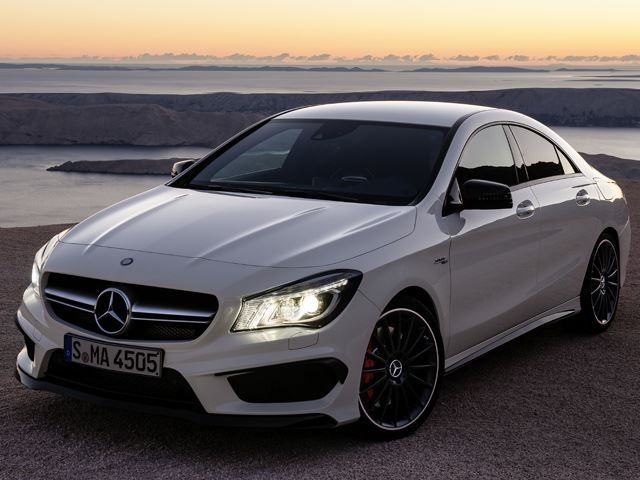 AMG Officially Reveals CLA45