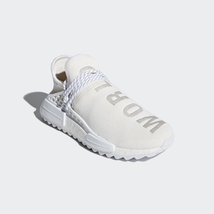 the best attitude cb33f 33511 Pharrell Williams Hu Holi NMD BC Shoes Cream White 11.5 Mens