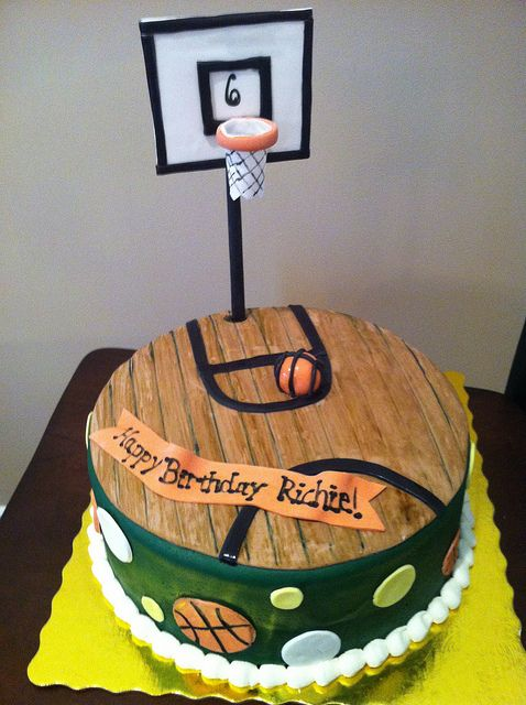 Basketball Court Cake Cakepins Com Funny In 2019 Pinterest