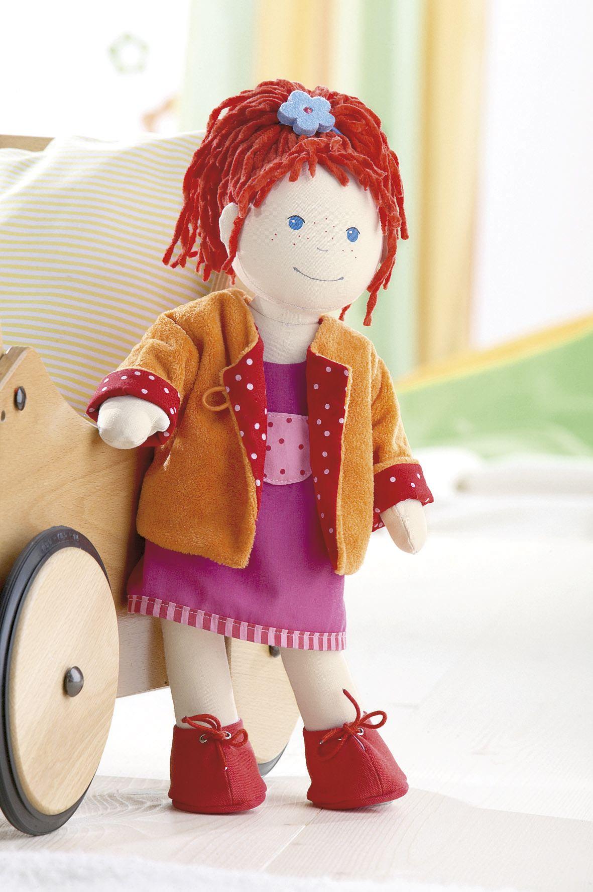 puppe lotta artikelnummer 1578 die haba puppenfamilie dolls und toys. Black Bedroom Furniture Sets. Home Design Ideas