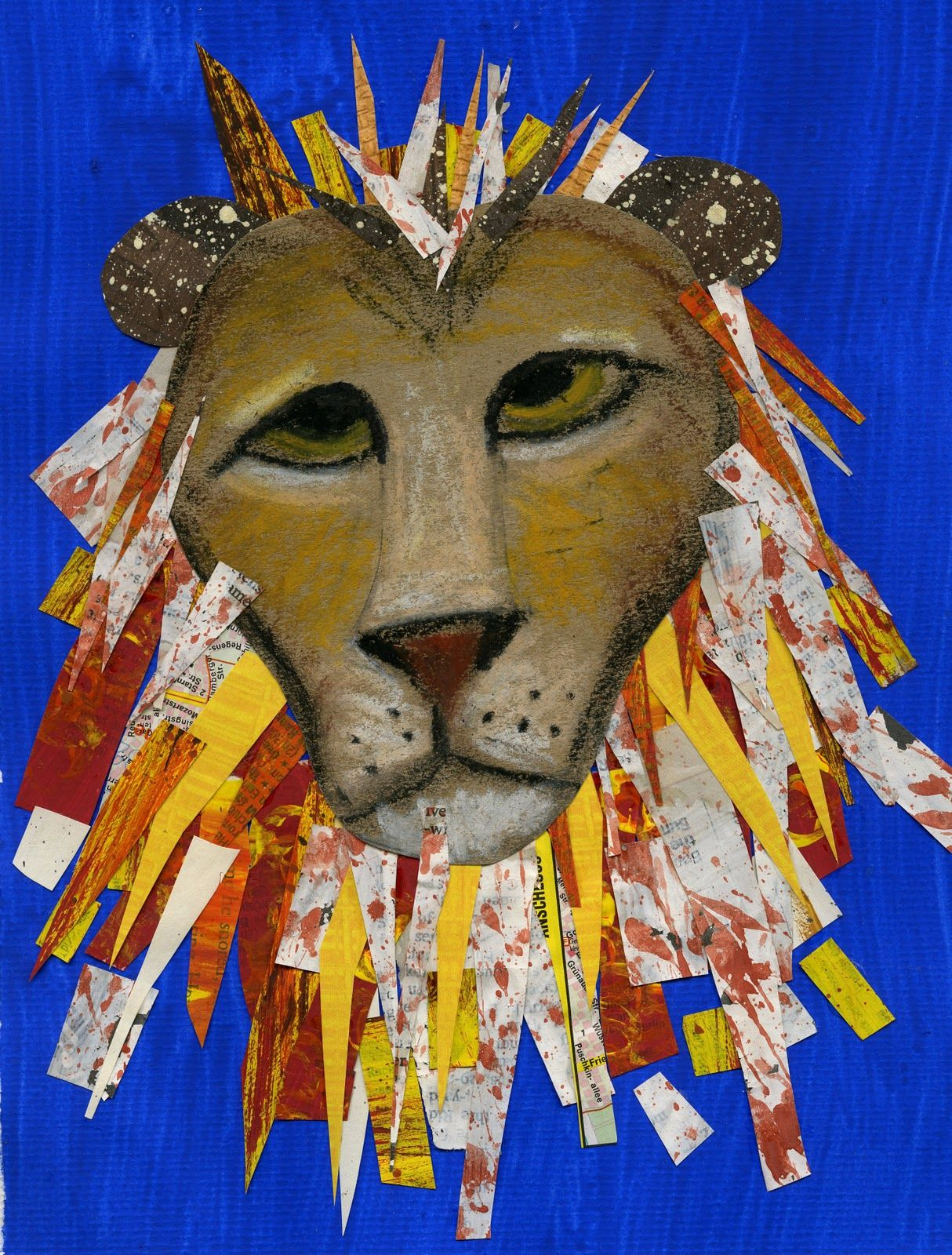 March Lion Or Lamb Art Project