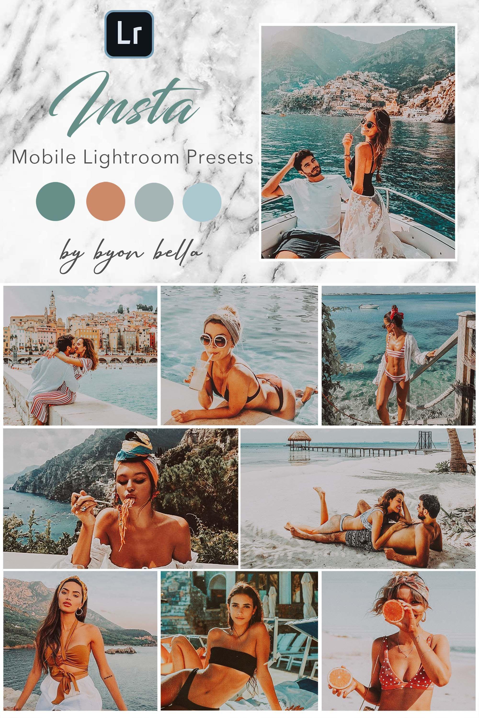 8 mobile lightroom presets iphone presets lightroom