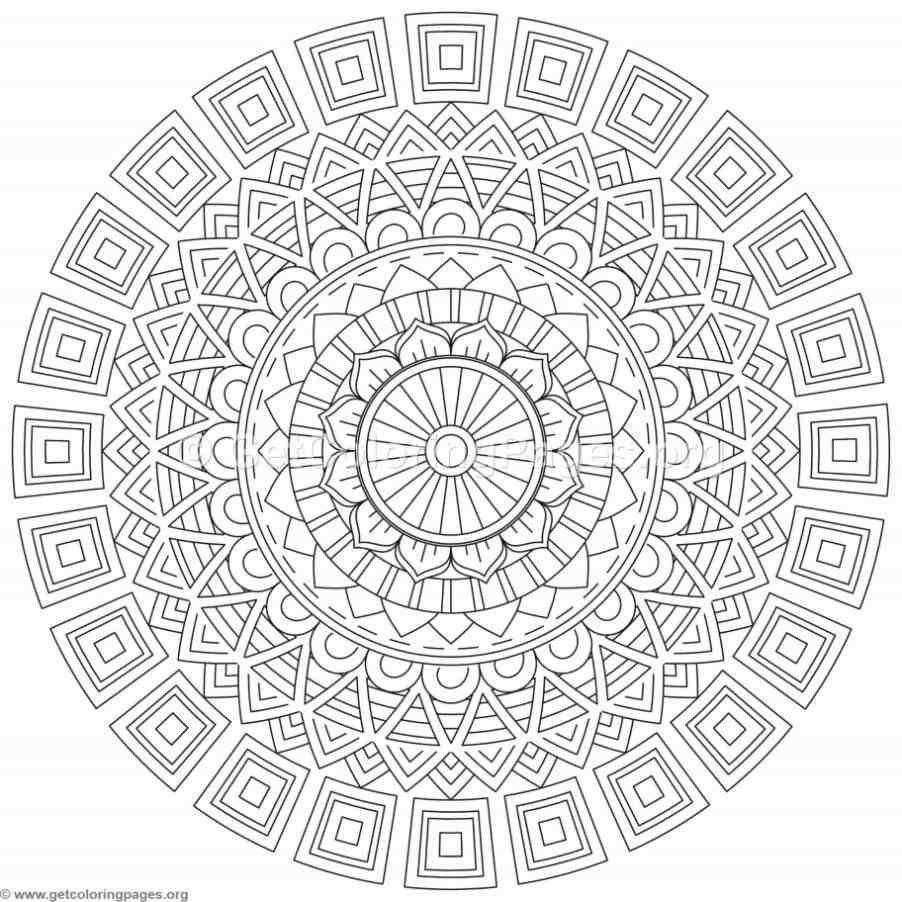 Fantastic Coloriage Superbes Mandalas Inde Et Patience Elaboration ...