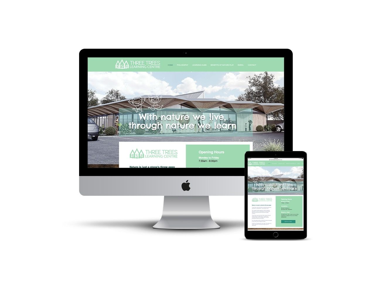 Website Webdesign Webdesignnz Www Threetreeslearningcentre Co Nz Designed By The Team At Market My Company Web Design Marketing Web Design Marketing