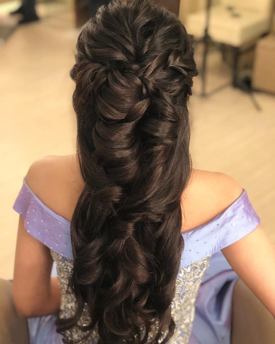 20 Latest Hairstyle For Girl In Indian Marriage Indian Wedding Hairstyles Indian Bridal Hairstyles Indian Hairstyles