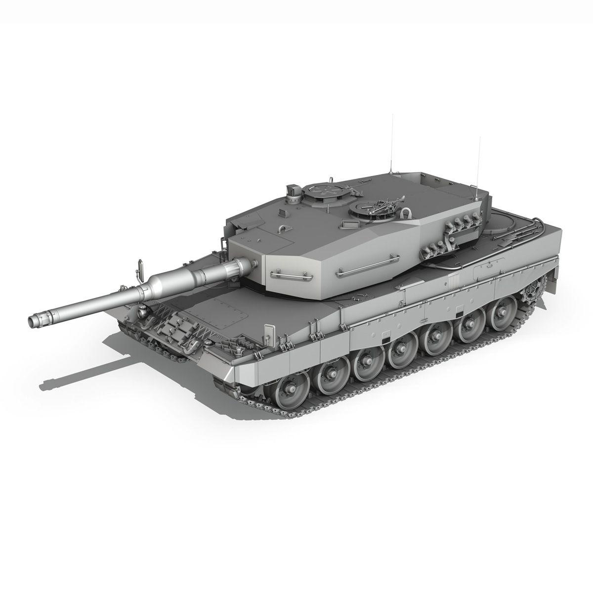 leopard 2a4 mbt 3d model military vehicles 263715 Desenho 3d
