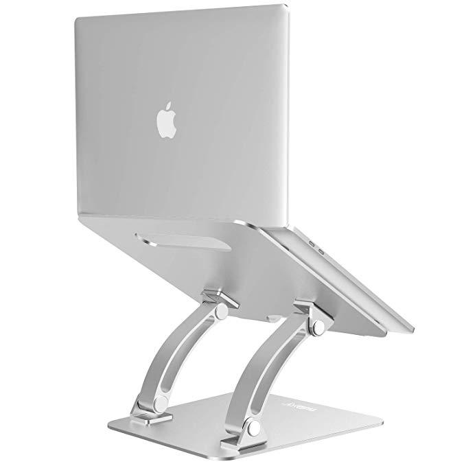 Amazon Com Nulaxy Laptop Stand Ergonomic Adjustable Laptop Riser Computer Laptop Stand Compatible With Ma Laptop Stand Apple Computer Laptop Laptop Computers