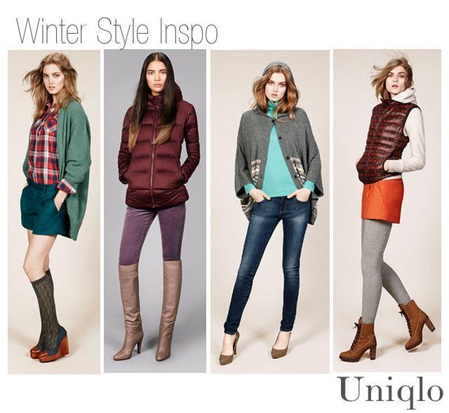 4e0a137dd Winter Style Inspiration -Uniqlo   STYLE   Winter fashion, Fashion ...