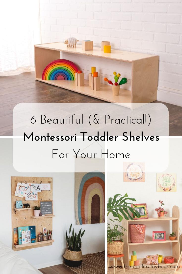 6 Awesome Montessori Toddler Shelf Options for Your Home
