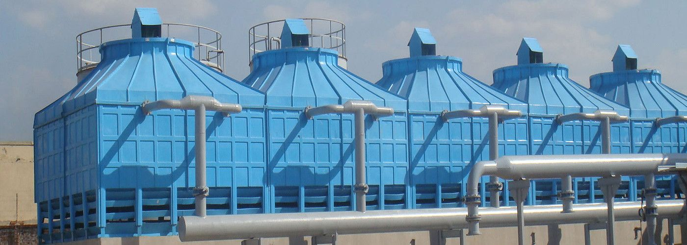 Power Plant Has Several Components But Cooling Towers Are One Of