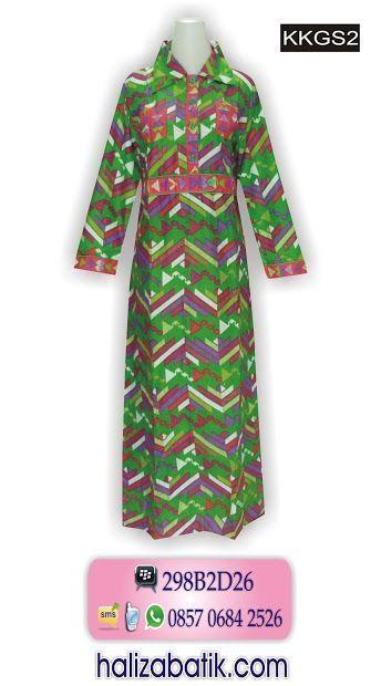 Model Baju Batik Wanita Muslim Batik Muslim Bahan Katun Model