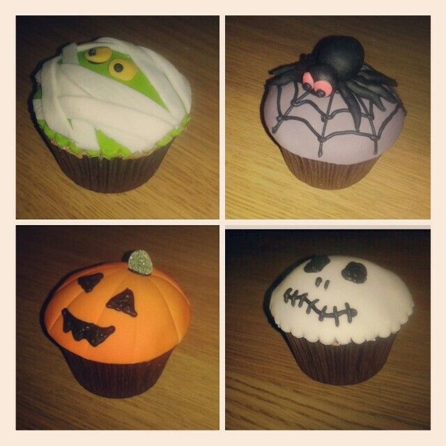 Happy Halloween! Cupcakes by Gingerbread Lane